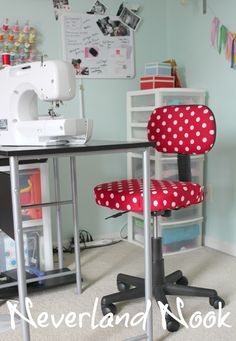Office/Craft Chair Makeover