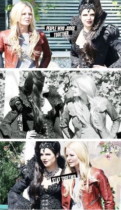 Once upon a time - Jennifer Morrison - Emma Swan - OUAT - Lana Parrilla - Regina Mills - Swan Queen - #SwanQueen