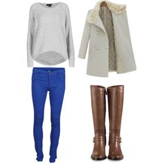 Winter look #7 by rinanuramalina on Polyvore