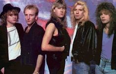 Def Leppard, I remember this pin-up...probably still have it!