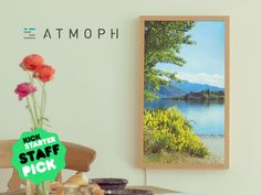 Atmoph Window - Your Room Can Be Anywhere. A digital window that opens to beautiful scenery from around the world with 4K-shot videos and sound. Place it anywhere, be anywhere.