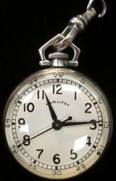Hamilton Sterling Silver Pocketwatch