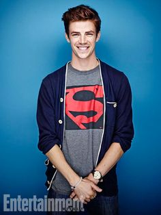 Grant Gustin, The Flash. See more stunning star portraits from our photo studio at San Diego Comic-Con 2014 here: http://www.ew.com/ew/gallery/0,,20399642_20837151,00.html