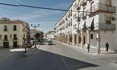 Inicio de las las obras del nuevo acceso a Baeza desde Jaén hasta la Plaza del Pópulo