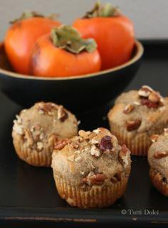 Spiced Persimmon Muffins | Tasty Kitchen
