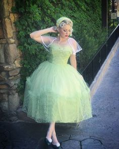 Tinkerbell Peter Pan Disneybound at Spring Dapper Day 2017 by