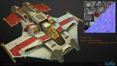 ArtStation - Battlestar Galactica : Squadrons - Stingray, Alexandre Etendard Digital Sculpting, Game Assets, Battlestar Galactica, Game Art, Concept Art, Modeling, 3d, Artwork, Conceptual Art