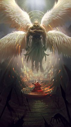 """Garuda por alejdark - Criaturas 