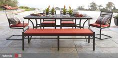 Crate & Barrel - Valencia Outdoor Furniture