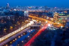 A Bucharest, Optimism, Paris Skyline, Times Square, Places To Visit, City, Travel, Viajes, Cities