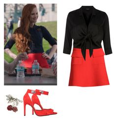 Cheryl Blossom - Riverdale by shadyannon on Polyvore featuring polyvore fashion style River Island Givenchy N°21 clothing