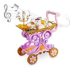 Beauty and the Beast Singing Tea Cart