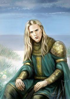 Glorfindel, Morgoth, Aesthetic Drawing, Aesthetic Art, Tolkien, Mona Lisa Drawing, Male Elf, High School Art Projects, Mona Lisa Parody
