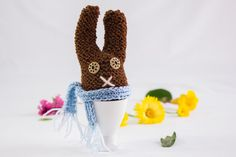 Knitted Easter Egg Cosy Egg Warmer Easter Egg Toy by heaventoseven, $11.00