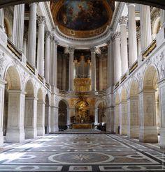 Royal Chapel at the Palace of Versailes