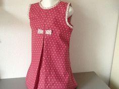 Robe d'été fillette rose à pois : Mode filles par nany-made