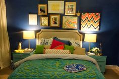 6th Street Design School: Feature Friday: Vivid Hue Home