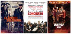 """#Estrenos de la semana: """"El llanero solitario"""", """"El último concierto"""" y """"Juerga hasta el fin""""."""