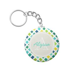 On the Grid Keychains