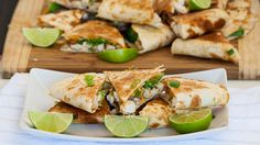 Cheesy Chicken with Bacon and Avocado Quesadillas - these are incredibly delicious.