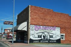 Bristow in Oklahoma http://route66jp.info Route 66 blog ; http://2441.blog54.fc2.com https://www.facebook.com/groups/529713950495809/