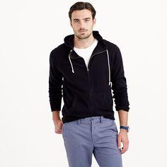 Cotton-cashmere zip hoodie : cotton-cashmere | J.Crew