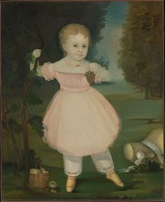 Portrait of a Little Girl Picking Grapes Date: 1840–50