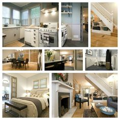 Great Income Property reno - lots of salvage Decor Interior Design, Interior Decorating, Decorating Ideas, Basement Plans, Basement Ideas, Basement Apartment, Apartment Ideas, Income Property, Small Basements