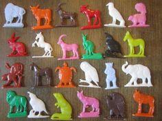 Miniature Animals Vintage Toy Cracker Jack by RedStarVintage