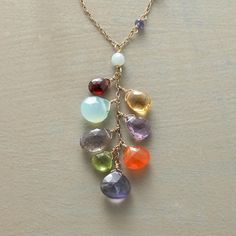 Rainbow Falls Necklace by Thoi Vo