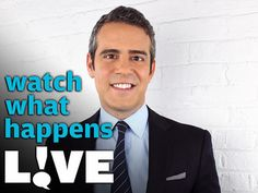 Watch What Happens Live with Andy Cohen on BRAVO