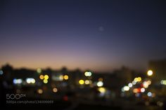 Delightful City - Pinned by Mak Khalaf Manipulation with Focus Abstract beautifulblueblurbuildingcitycolorcolorfullightsnightskysunset by Jamal-Alqeley