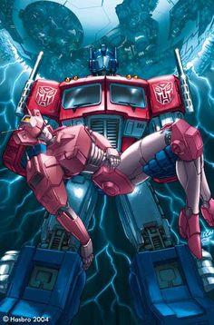 Optimus Prime & Elita 1