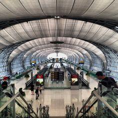 Suvarnabhumi Airport (BKK) ท่าอากาศยานสุวรรณภูมิ in Bang Phli, สมุทรปราการ