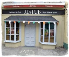 JDs Ballybunion - Click pub photo image above to purchase your #Pubs of #Ireland Photo Print with PayPal. You do not need a PayPal account to purchase photo. Pubs of Ireland photos are perfect to display in any sitting room, family room, or den to celebrate a family's Irish heritage. $9.00 (plus $5 shipping & handling in USA)