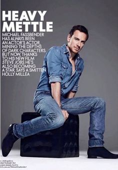 Michael Fassbender is featured in Elle Australia - Feb 2016