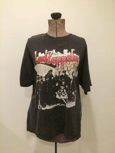 Vintage Led Zeppelin Tshirt  80s Retro Classic by RetroRevivalClub