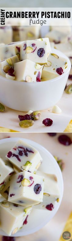 Fudge doesn't have to be complicated or intimidating! This easy Creamy Cranberry…