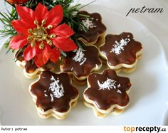 Snack sweets without gluten, milk and eggs Czech Recipes, Milk And Eggs, Christmas Cookies, Waffles, Sweet Tooth, Gluten Free, Pudding, Punk, Sweets