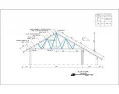 setyawanws uploaded this image to 'Web/Teknik Sipil'. See the album on Photobucket. Roof Design, House Design, Steel Trusses, Architecture Concept Drawings, Cad Blocks, Metal Buildings, Home Design Plans, Civil Engineering, Galaxy Wallpaper
