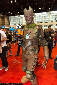 14 best groot images on pinterest costumes do crafts and costume groot and rocket raccoon c2e2 2014 solutioingenieria Gallery