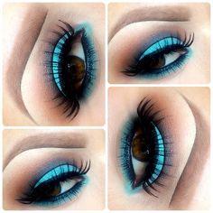 Aqua Brown Eyeshadow