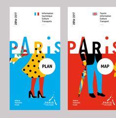 Paris Tourism office branding!