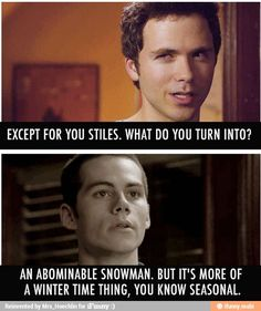 Teen Wolf. Stilies The Funnyest Person On Teen Wolf. / iFunny :)