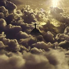 Rio~de~Janeiro~Christ the Redeemer Statue above the clouds Places To Travel, Places To See, Wonderful Places, Beautiful Places, Places Around The World, Around The Worlds, Christ The Redeemer Statue, Jesus Christ, Brazil Travel