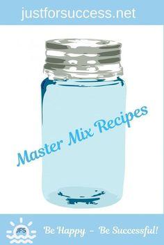 Master Mix Recipe, Cake Mix Recipes, Baking Recipes, Dessert Recipes, Fast Recipes, Delicious Recipes, Easy Granola Recipe, Cobbler Topping, Biscuit Mix