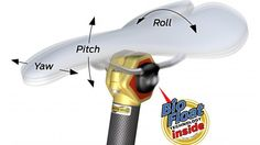 The BioFloat bicycle seatpost reduces vibrations by surrounding the seat clamp with flexible polymer inserts.