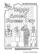 May 18th is Armed Forces Day! Show your appreciation with this activity sheet and give to a brave member of our Armed Forces! :)