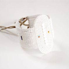 Yeyo Bracelet; inspired by a wedding bracelet worn by a Maasai bride in the Ngorongoro Crater.