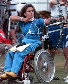 11 Disabled Athletes Who Competed in the Olympics  Paola Fantato, Italy, Women's Archery, 1996